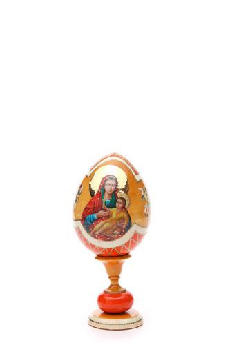 Russian Egg Kozelshanskaya D 233 Coupage Faberg 232 Style 20cm