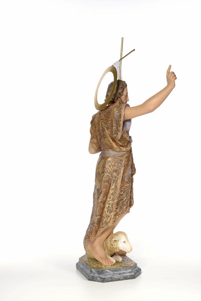 San Juan Bautista 80cm pasta de madera Elegante | venta online en ...