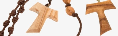 Assisi olive wood rosaries