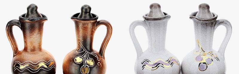 Keramik Messkännchengarnitur