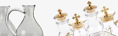 Glas Messkännchengarnitur