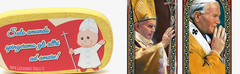 John Paul II magnets