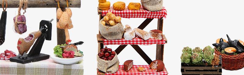 Lebensmittel-Miniaturen