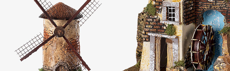 Watermills and windmills