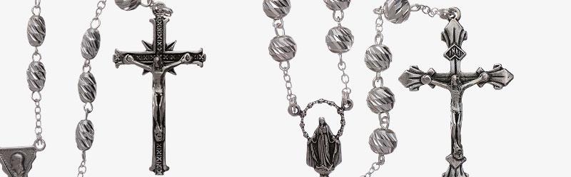 Rosari argento