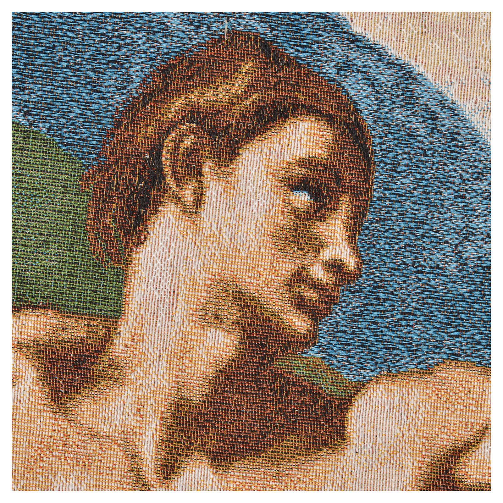 Wandteppich Erschaffung Adams 72x130 cm 3