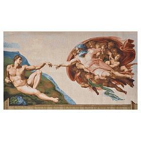 Wandteppich Erschaffung Adams 72x130 cm s5