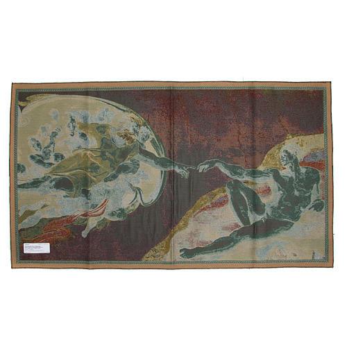 Wandteppich Erschaffung Adams 72x130 cm 10