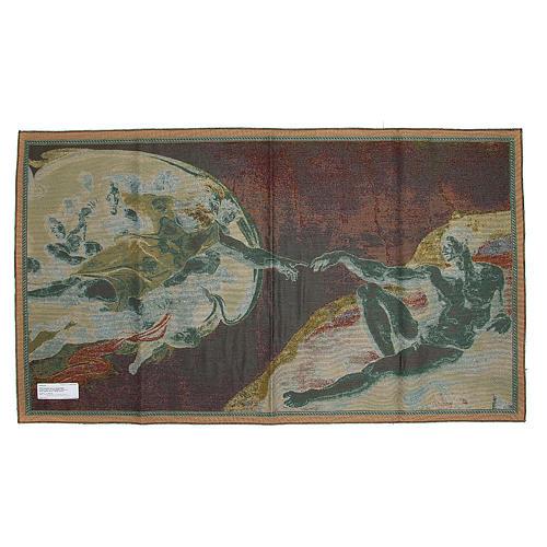Wandteppich Erschaffung Adams 72x130 cm 2