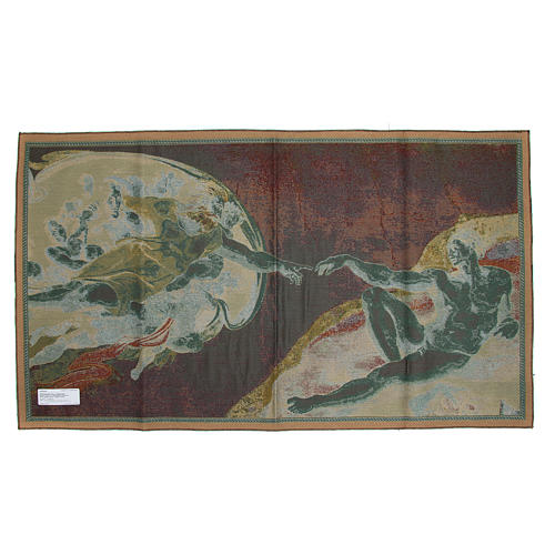 Tapestry Creation of Adam 72x130cm 10