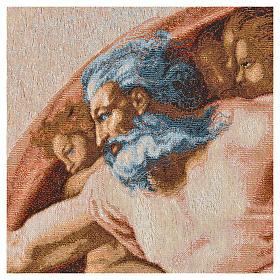 Tapiz con la Creación de Adán 72x130cm s6