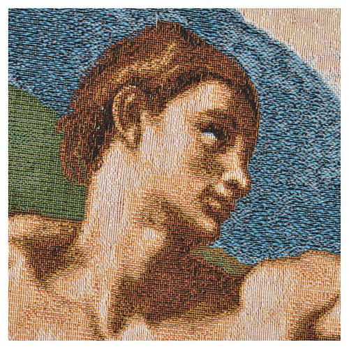 Tapiz con la Creación de Adán 72x130cm 8