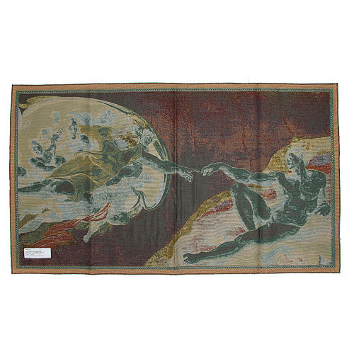 Tapestry Creation of Adam 72x130cm 2