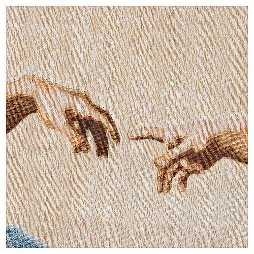 Tapestry Creation of Adam 72x130cm 3