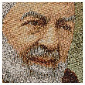 Tapestry Padre Pio