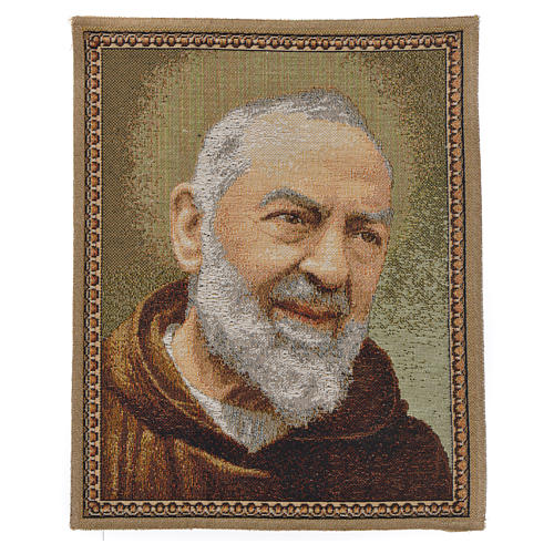 Tapiz con Padre Pío de Pietrelcina 1