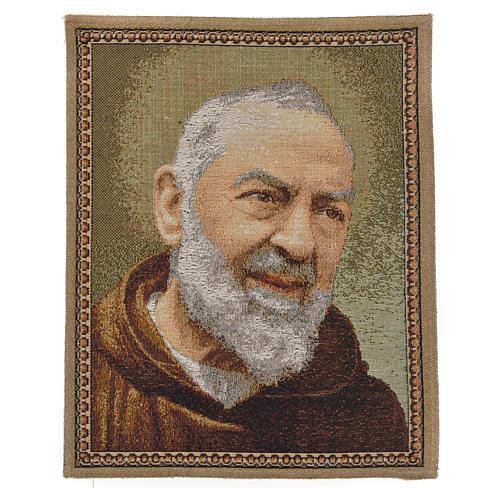 Tapeçaria Padre Pio 1
