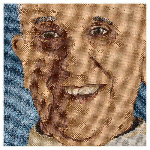 Gobelin Papież Franciszek 47x34 cm 2