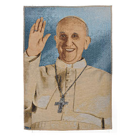 Tapestry Pope Francis 47x34cm s1