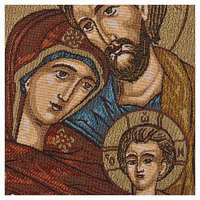 Arazzo Sacra Famiglia 47x34 cm s2