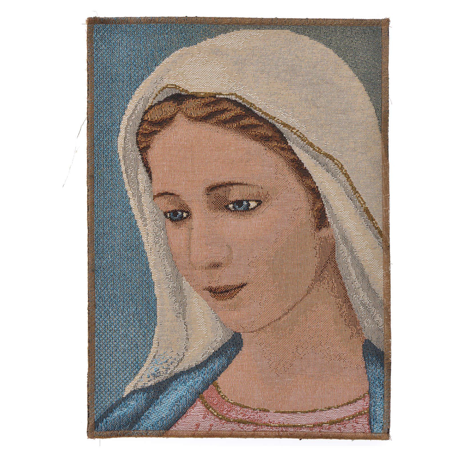 Tapiz con Nuestra Señora de Medjugorje 3