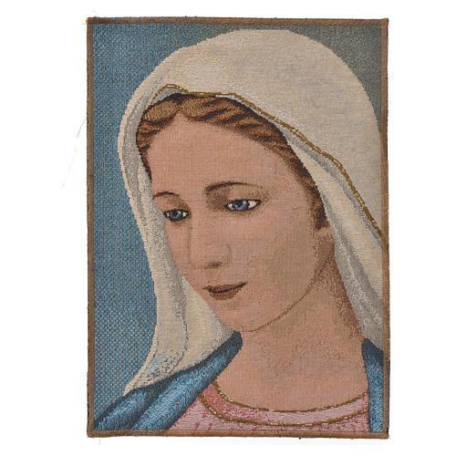 Tapiz con Nuestra Señora de Medjugorje 1