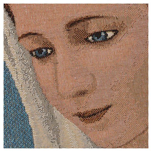 Tapiz con Nuestra Señora de Medjugorje 2