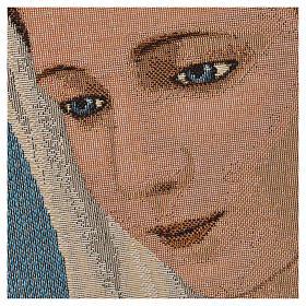 Arazzo Madonna di Medjugorje s2