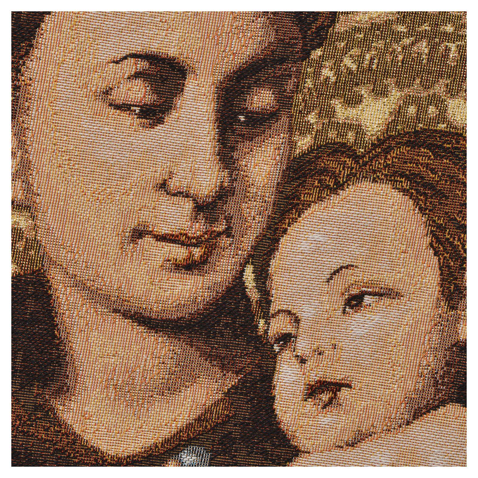 Gobelin Święty Antoni z Padwy 50x35 cm 3