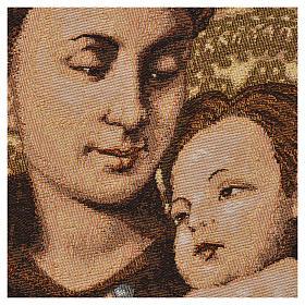 Gobelin Święty Antoni z Padwy 50x35 cm s2