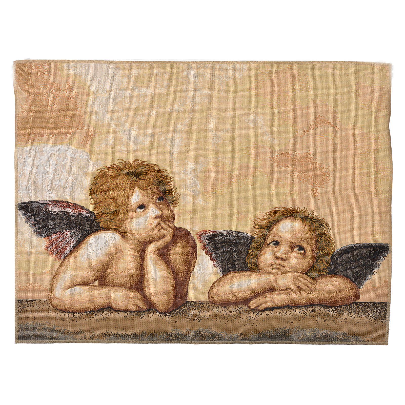 Arazzo Angeli Pensatori 50x65 cm 3