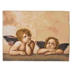 Arazzo Angeli Pensatori 50x65 cm s1