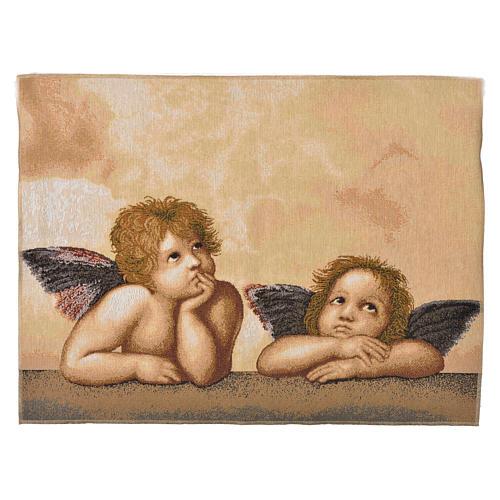 Arazzo Angeli Pensatori 50x65 cm 1