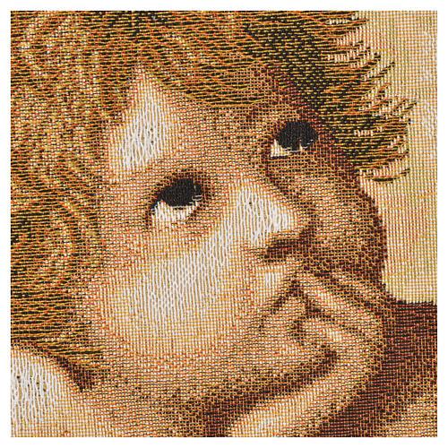 Tapestry Raphael's cherubs 50x65cm 2
