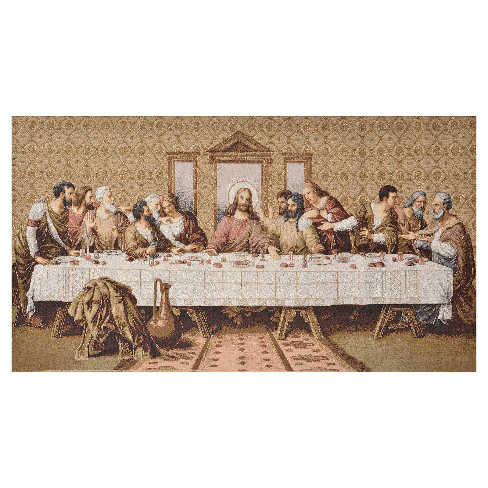 Tapestry Last Supper 72 x 130cm 3