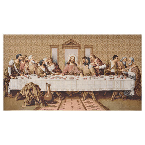 Tapestry Last Supper 72 x 130cm 1
