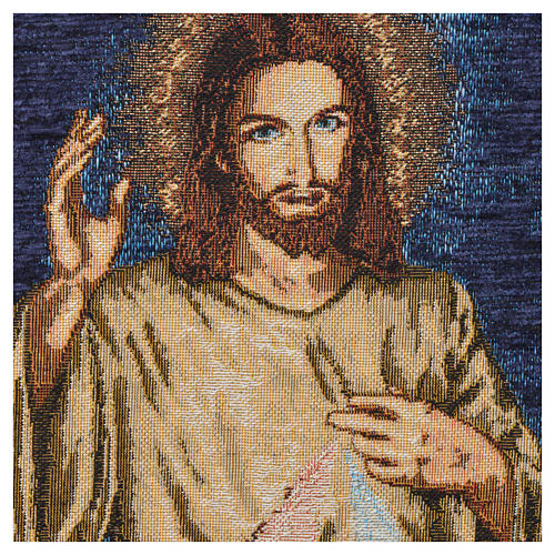 Wandteppich Barmherziger Jesus 4