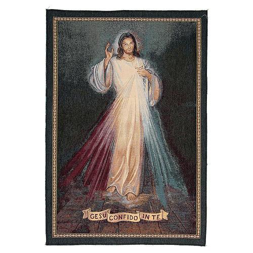 Wandteppich Barmherziger Jesus 1