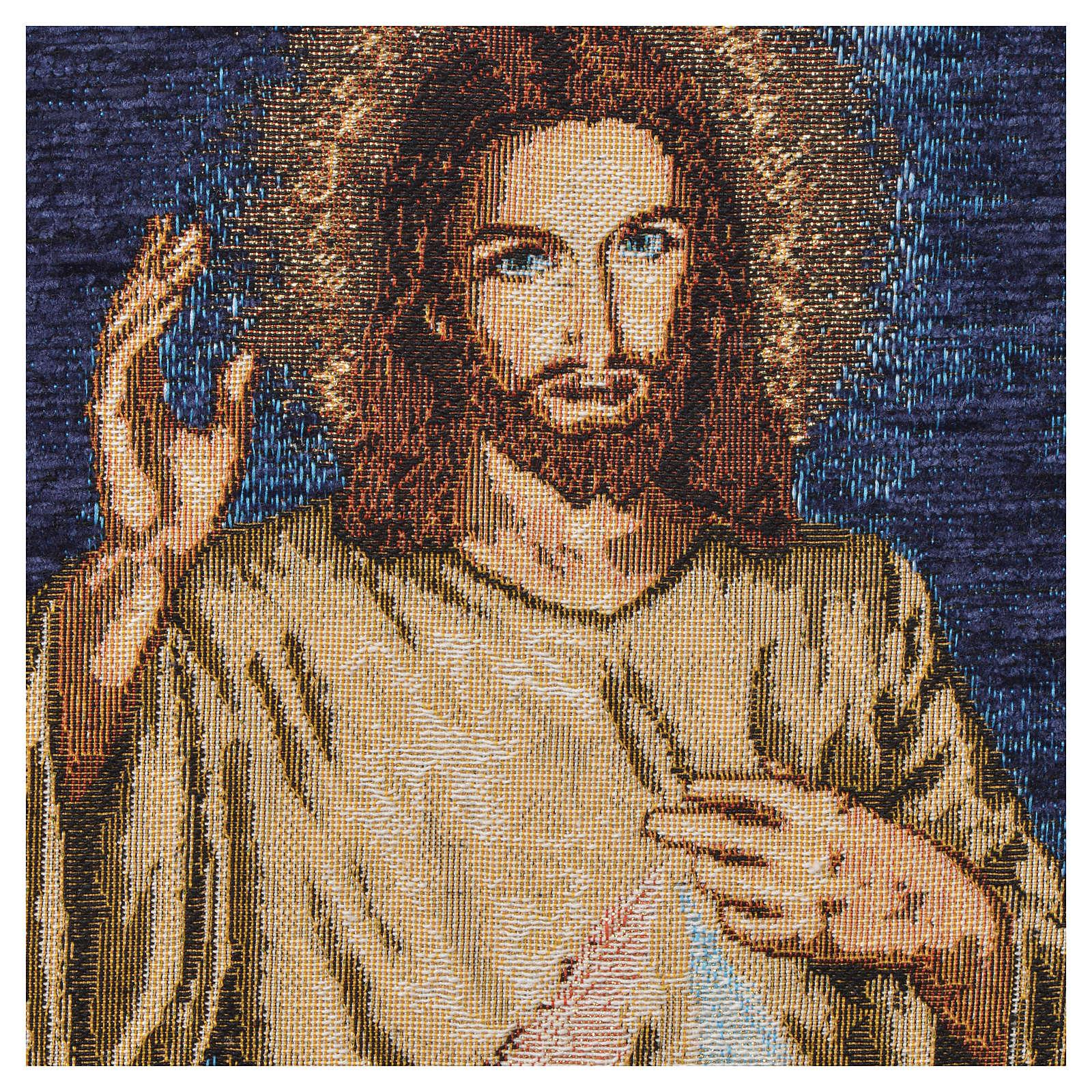 Tapisserie Jésus miséricordieux 3