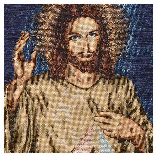 Tapisserie Jésus miséricordieux 4