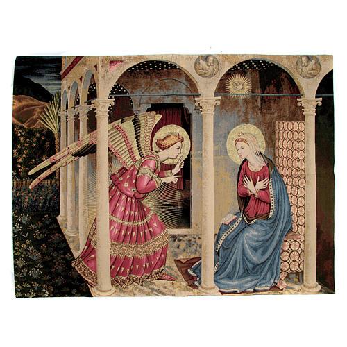Arazzo Annunciazione del Beato Angelico 95x125 cm 1