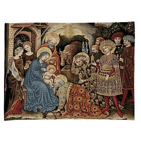Arazzo Adorazione dei Magi di Gentile da Fabriano 60x80 cm s1