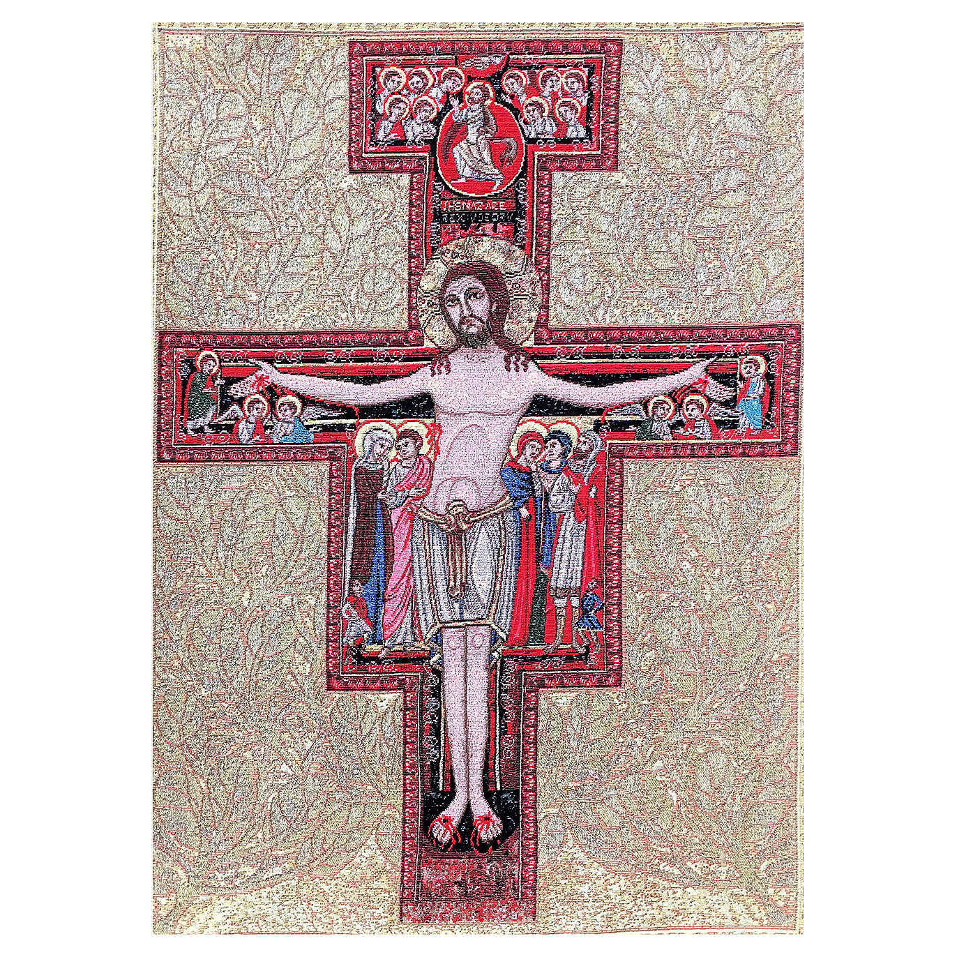 Tapiz Crucifijo San Damian 90 x 65 cm 3