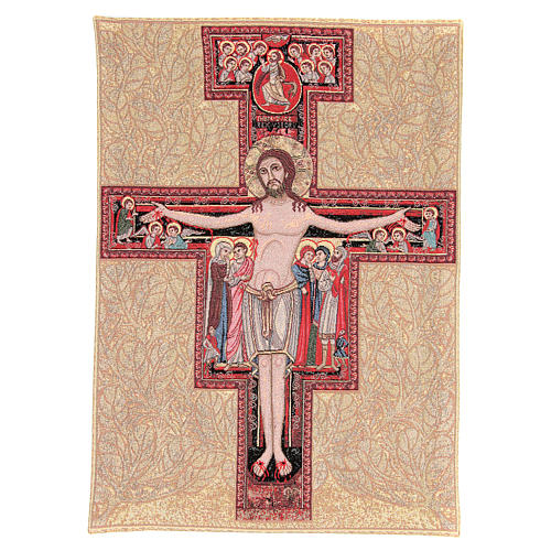 Tapiz Crucifijo San Damian 90 x 65 cm 2