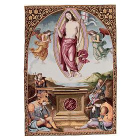 Arazzo della Resurrezione del Perugino 90x65 cm s1