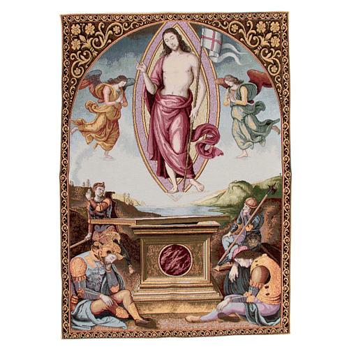 Arazzo della Resurrezione del Perugino 90x65 cm 1