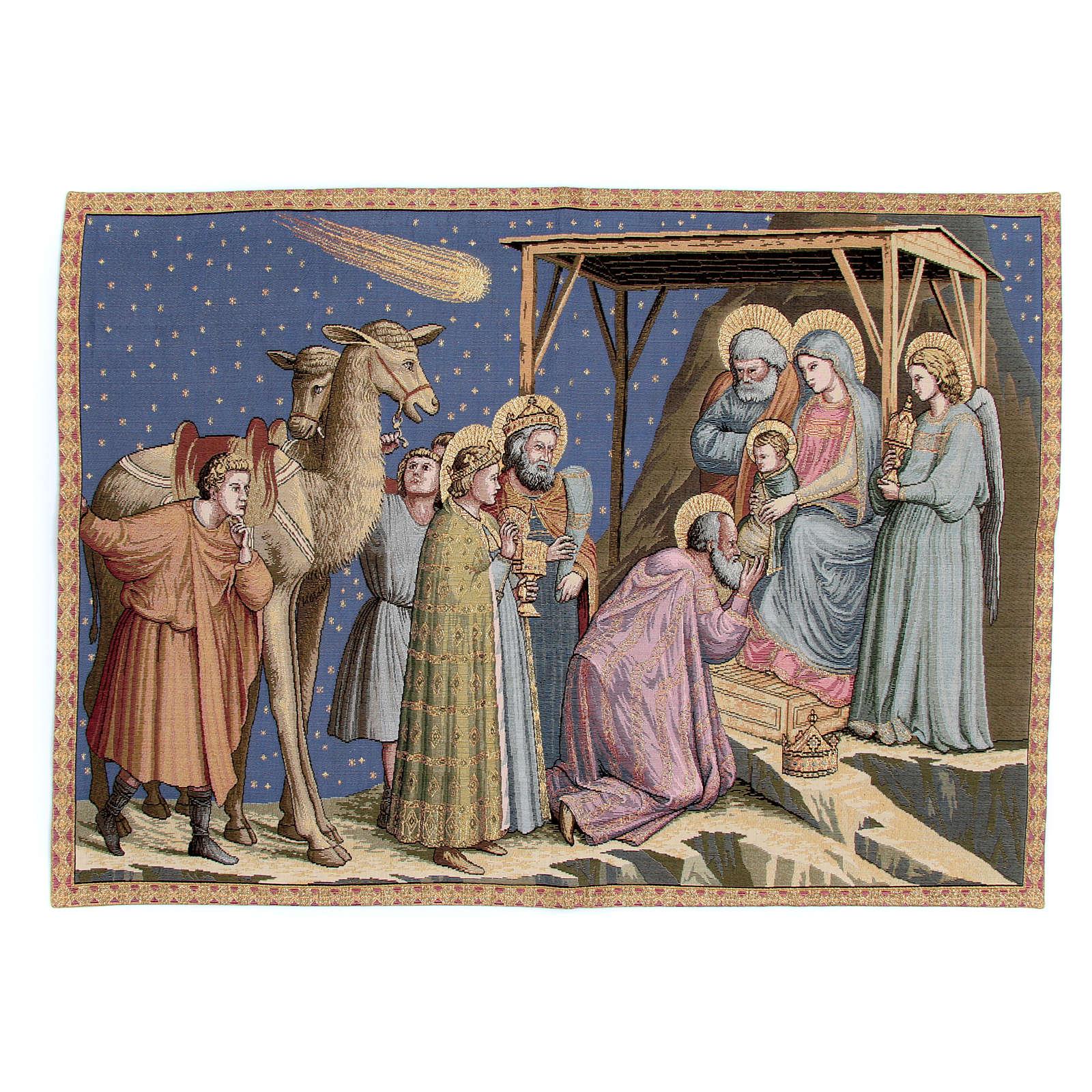 Arazzo Adorazione Giotto 65x90 cm 3