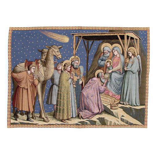 Arazzo Adorazione Giotto 65x90 cm 1