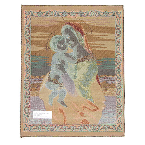 Tempi Madonna by Raphael tapestry 65x50cm 2