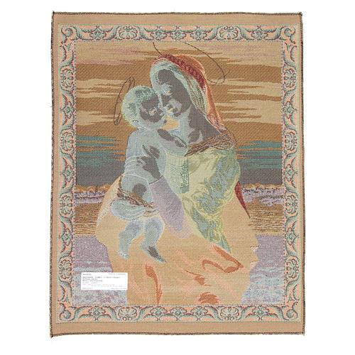 Tapisserie La Vierge Tempi de Raphaël 65x50 cm 2
